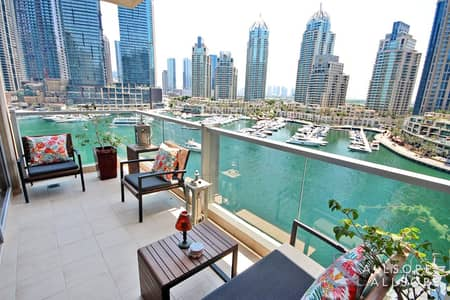3 Bedroom Apartment for Sale in Dubai Marina, Dubai - Best Layout | 3 Bed | Full View | Maids