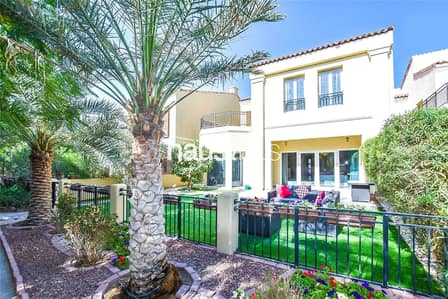 4 Bedroom Villa for Rent in Motor City, Dubai - Private position | 4 bedrooms | Immaculate