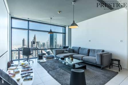 فلیٹ 1 غرفة نوم للبيع في مركز دبي المالي العالمي، دبي - 1Bed Index tower| DIFC  |Exclusive With Owner