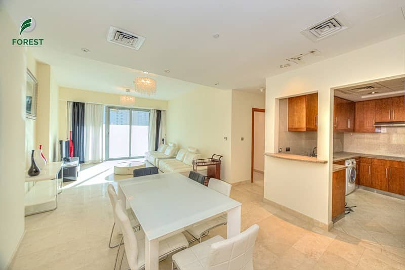 2 Spacious 2BR with Huge Balcony in Trident Grand