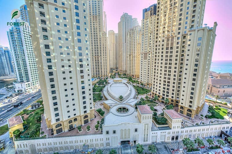 12 Spacious 2BR with Huge Balcony in Trident Grand