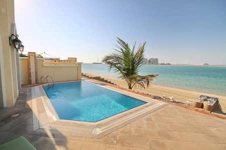 5 Bedroom Villa for Rent in Palm Jumeirah, Dubai - Beautiful Villa Furnished| available for daily - weekly (Short Term)
