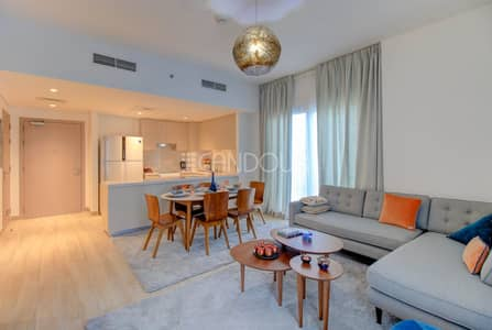 Spacious Living Area | 2 Bed plus maids | Water's Edge
