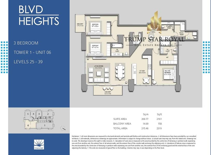 5 3Br+M Apt in Boulevard Heights Downtown