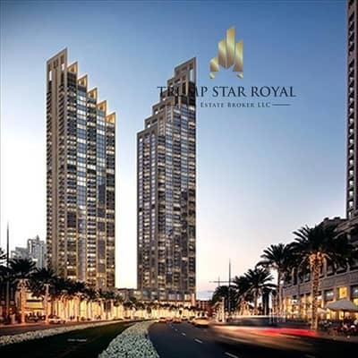2 Bedroom Flat for Sale in Downtown Dubai, Dubai - Off Plan 2Br Apt in Boulevard Heights Downtown