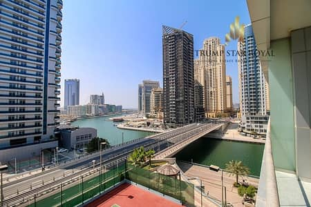 1 Bedroom Flat for Sale in Dubai Marina, Dubai - Marina View | Spacious 1Br in The Waves Marina