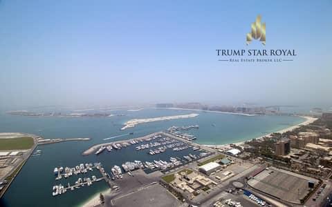 شقة 3 غرف نوم للبيع في دبي مارينا، دبي - Full Sea View 3 Br+S in Cayan Tower