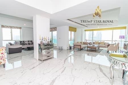 5 Bedroom Penthouse for Sale in Dubai Marina, Dubai - 5Br+M Full Marina Penthouse in Al Mesk Tower