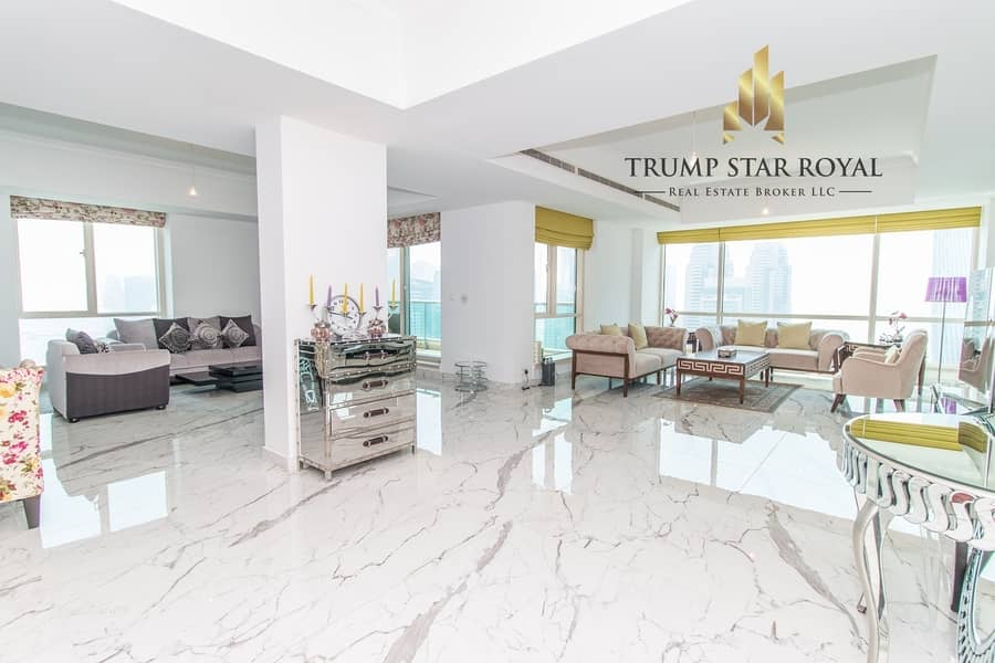 2 5Br+M Full Marina Penthouse in Al Mesk Tower