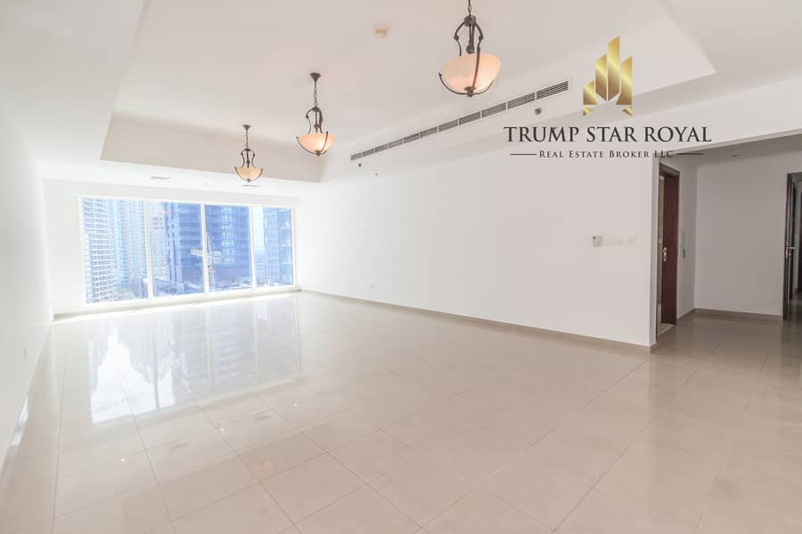 Spacious Vacant 2 Br in Emirates Crown