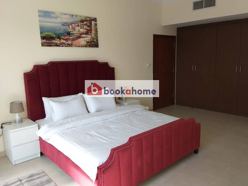 Spacious 1BHK Newly furnished apartment with balcony