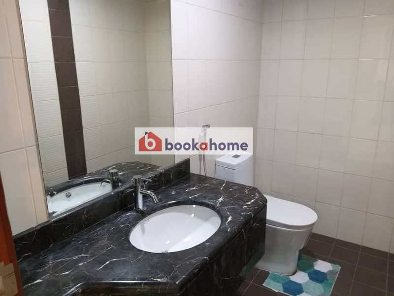 11 Spacious 1BHK Newly furnished apartment with balcony
