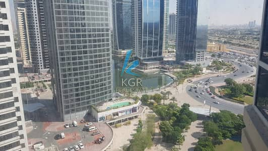 Studio for Rent in Jumeirah Lake Towers (JLT), Dubai - Partial Lake View | Spacious Studio | Great Deal.