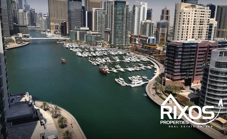 2 Luxury 1 Bedroom | Marina View | Brand New |  High Floor