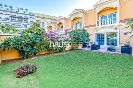 تاون هاوس 2 غرفة نوم للايجار في مثلث قرية الجميرا (JVT)، دبي - Excellent Condition | Single Row | Great Garden