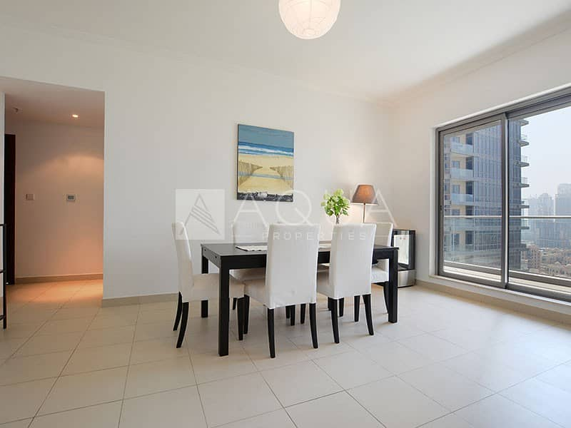 2 Well Maintained 3 Bed | Burj Khalifa view