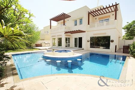 6 Bedroom Villa for Sale in The Meadows, Dubai - Exclusive | 6 Bed | Upgraded | Lake View