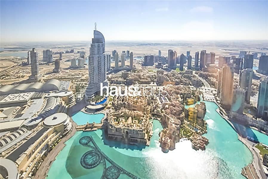 Burj Khalifa | Unfurnished | Fountain Views
