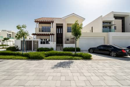 4 Bedroom Villa for Sale in Mohammad Bin Rashid City, Dubai - 4 BR large plot mediterranean villa | Vacant