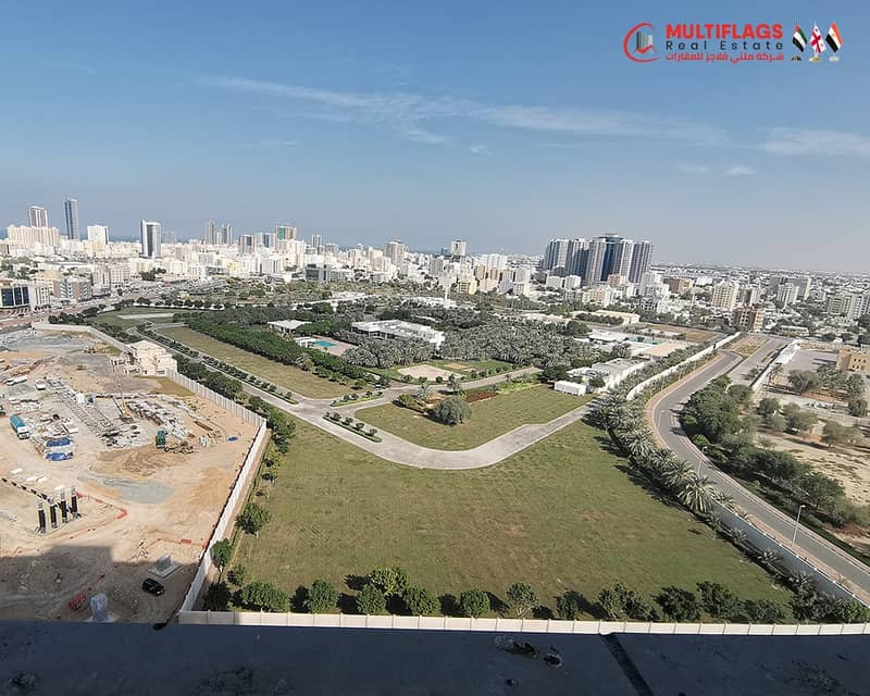 ready flat with down payment 18000 aed . . and take the contract directly