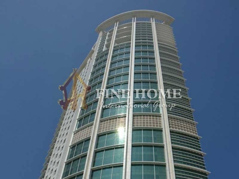 27 SEA/ CITY VIEW 2 BR. Apartment in Rak Tower