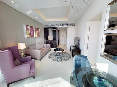 1 Bedroom Flat for Rent in Downtown Dubai, Dubai - One Bedroom l High Floor with Great View