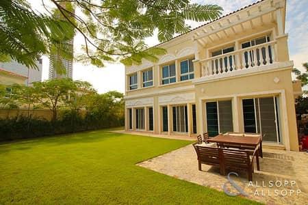5 Bedroom Villa for Sale in Jumeirah Village Triangle (JVT), Dubai - Five Bedrooms | Corner Plot | Vacant Now