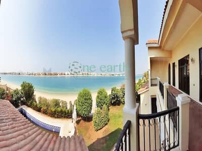 6 Bedroom Villa for Rent in Palm Jumeirah, Dubai - Spectacular Sunset View |High Number | 6 Bed Villa