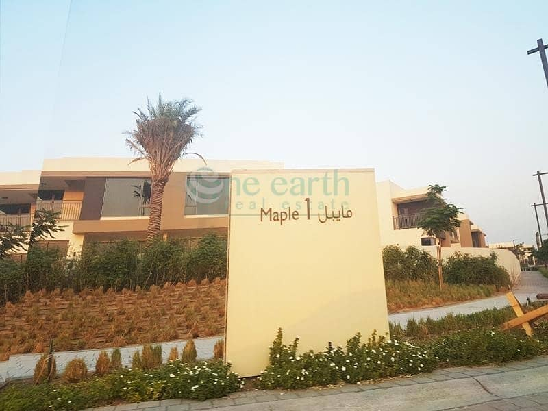 46 4 Bed +Maid |  Handed Over |  TYPE 2E-End Unit | Maple 1 - Dubai Hills