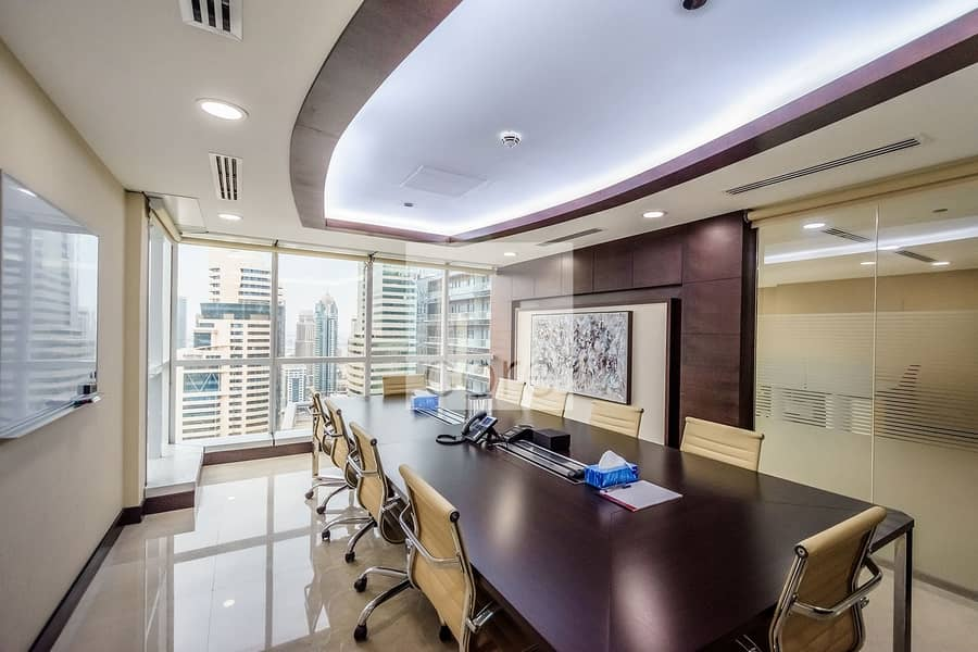 2 Fitted Office | Mid Floor | Balcony | DMCC