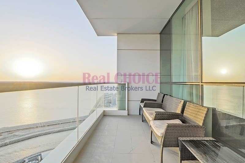 2 High Floor|2BR+Maid Fully Furnished Apartment