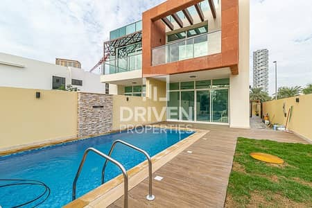 4 Bedroom Villa for Sale in Jumeirah Village Circle (JVC), Dubai - Impressive Unit with Pool and Park Views