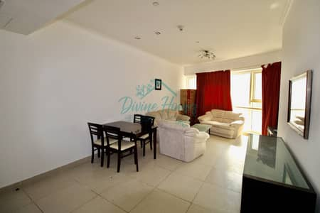 1 Bedroom Flat for Rent in Jumeirah Lake Towers (JLT), Dubai - Higher floor |covered parking|Right Opposite Dmcc Metro station