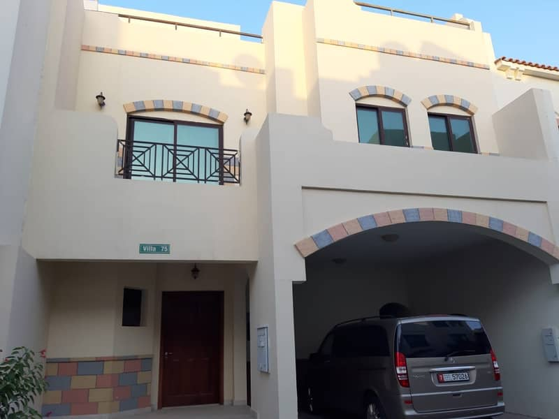 Spacious Villa in Khalidiya Village! No Commission ! Payment with 12 Cheques