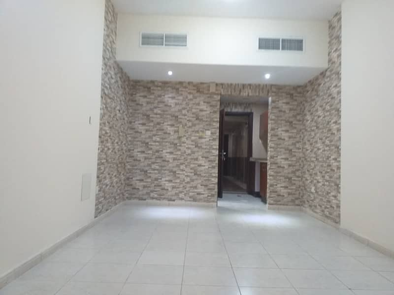 WITH BALCONY STUDIO IN GARDEN CITY FOR RENT 14000 ONLY