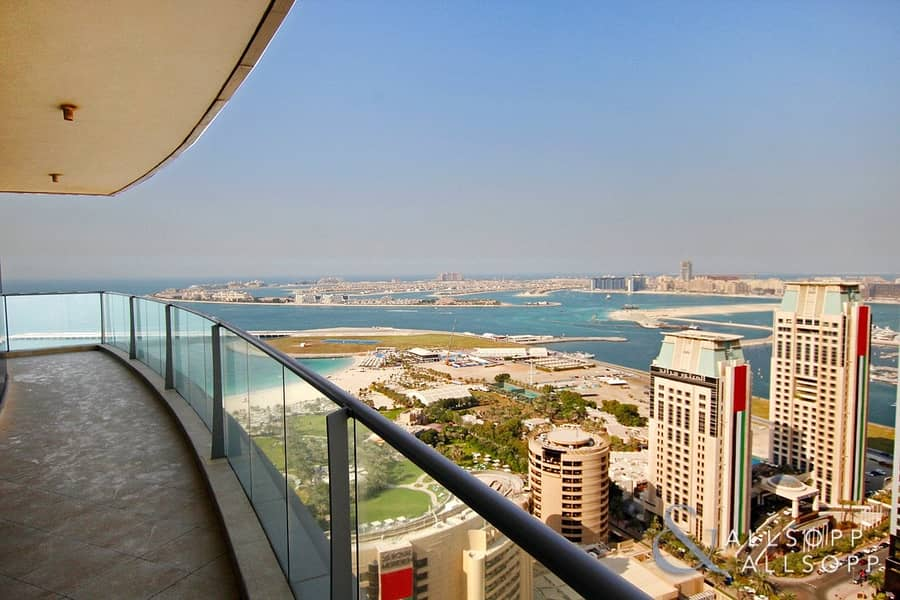 1 Full Sea View | High Floor | Spacious 2Bed