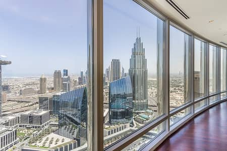 3 Bedroom Penthouse for Sale in Downtown Dubai, Dubai - 3BR Penthouse|Fabulous SEA and DIFC view