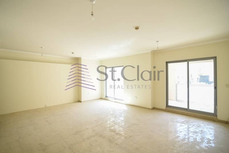 24 Spacious Duplex with Huge Terrace | Low Floor