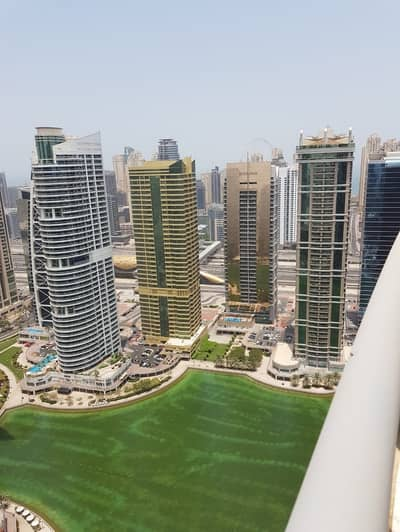 1 Bedroom Flat for Sale in Jumeirah Lake Towers (JLT), Dubai - Full lake view on High Floor in Concorde Tower