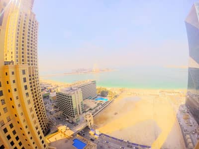 3 Bedroom Apartment for Rent in Jumeirah Beach Residence (JBR), Dubai - Very Large 3BR | Dubai Ain View | Huge Apartment
