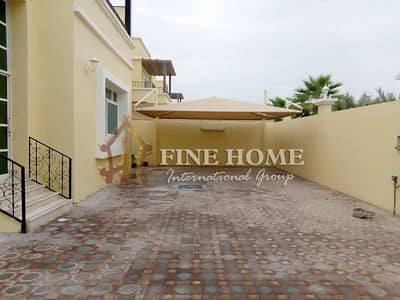 4 Bedroom Villa for Rent in Shakhbout City (Khalifa City B), Abu Dhabi - Awesomely Spaced 4MBR + M in Shakhbout City !