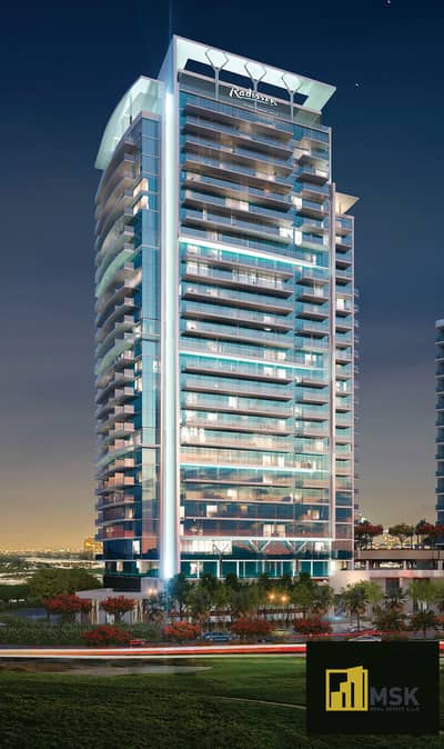 1 Bedroom Apartment for Sale in DAMAC Hills (Akoya by DAMAC), Dubai - 1 BED APARTMENT IN DAMAC HILLS BY RADISSON HOTEL !!!