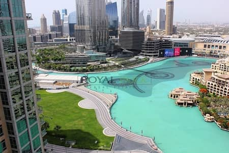 3 Bedroom Apartment for Sale in Downtown Dubai, Dubai - RELAXING Fountains View 3BR+Maid in The Residences