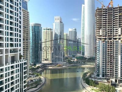 2 Bedroom Flat for Sale in Jumeirah Lake Towers (JLT), Dubai - FULL LAKE VIEW 2BR With Maids Room In Laguna Tower