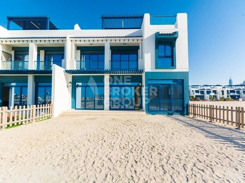 12 Beachfront Corner Townhouse In Palma Residences