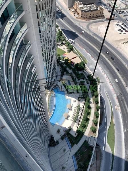 SEA VIEW 3BR+M For Rent In Burj Vista T1 Downtown Dubai