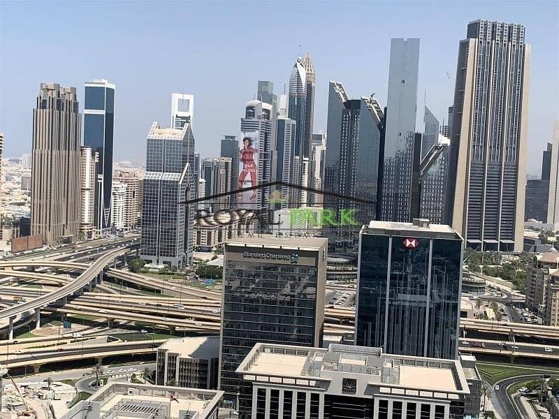 2 SEA VIEW 3BR+M For Rent In Burj Vista T1 Downtown Dubai
