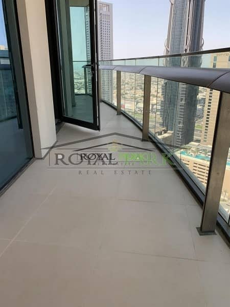 14 SEA VIEW 3BR+M For Rent In Burj Vista T1 Downtown Dubai