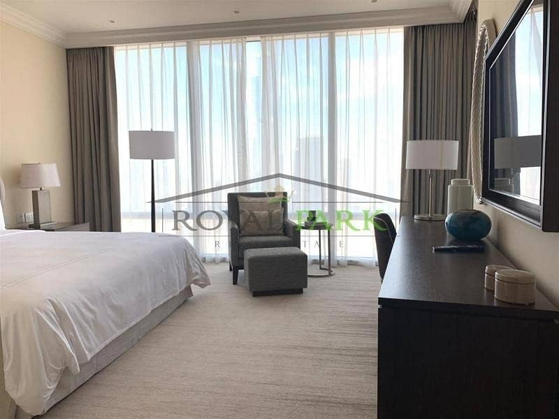 2 All Fees Included Full Burj View Address fountain view 2BR