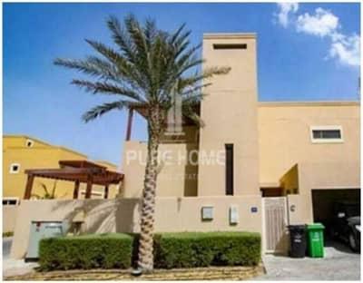 3 Bedroom Townhouse for Sale in Al Raha Gardens, Abu Dhabi - Hurry Up!! Great Location corner single row